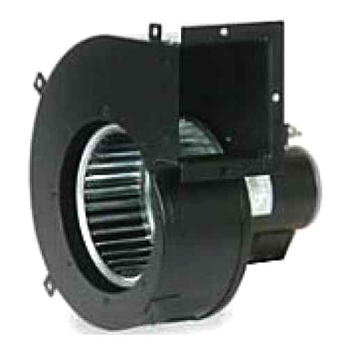 If you need to force air under pressure, then a blower is a fan that you can use in order to achieve this.